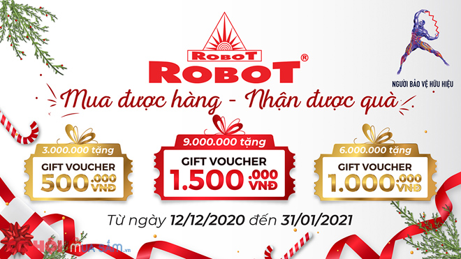 Vui Giáng sinh, rinh quà tặng, free ship máy lọc nước, máy làm mát