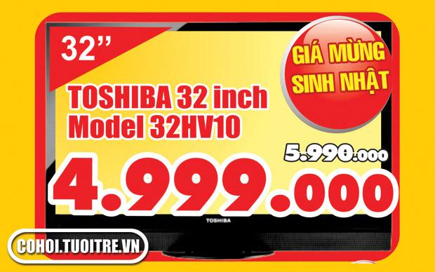Tivi LCD Toshiba 32HV10V