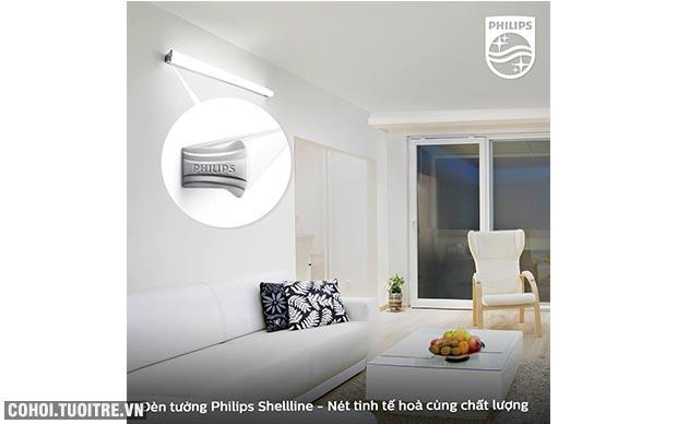 Đèn tường LED Philips Shellline 31172 20W 6500K (ánh sáng vàng)