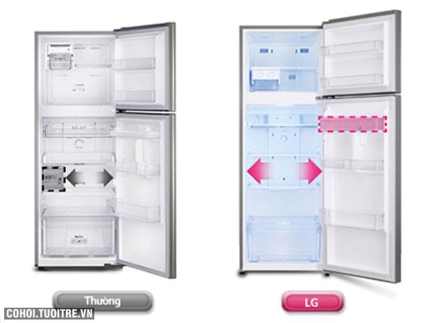 Tủ lạnh LG 209 lít GN-L225BS, tiết kiệm điện năng