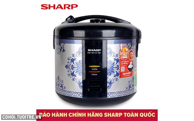 Xả kho nồi cơm điện Sharp KS-19TJV BC, giá từ 545 ngàn