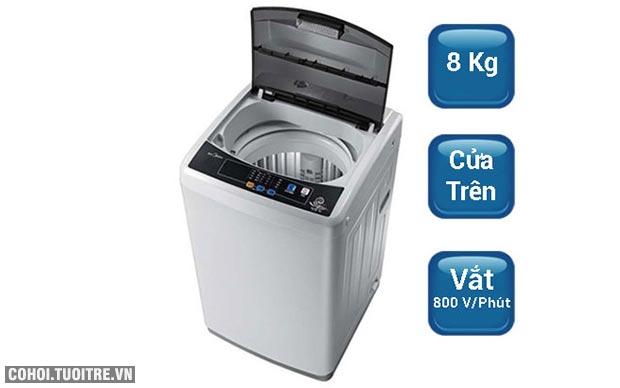 Máy giặt Midea 8 kg MAS8001