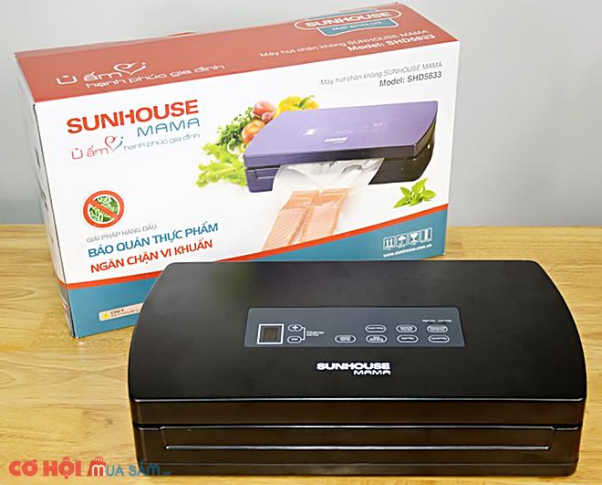 Máy hút chân không Sunhouse mama SHD-5833, sản phẩm dành cho gia đình