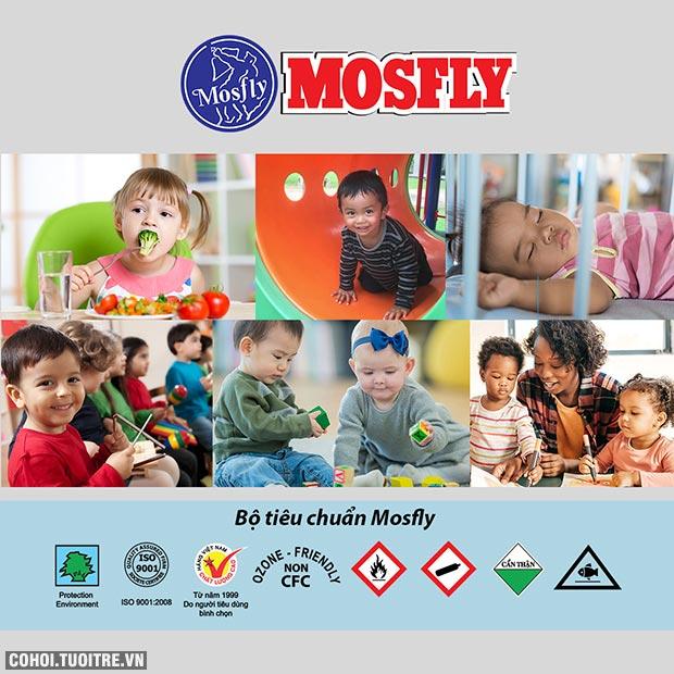 Mosfly FIKz - Dũng sĩ diệt muỗi thế hệ mới