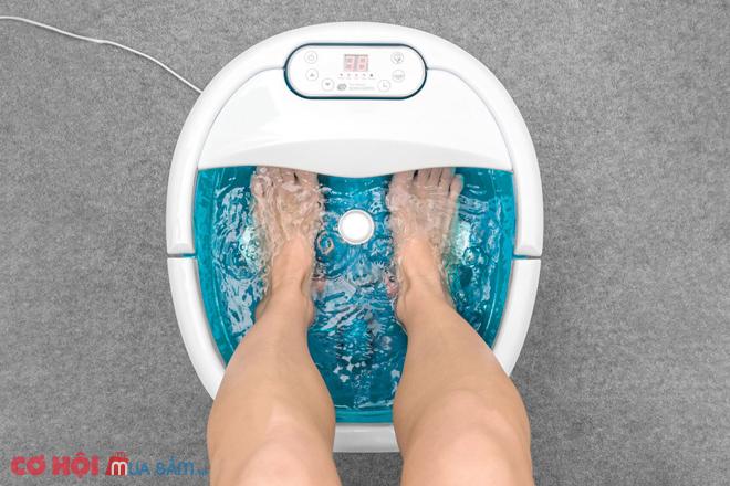 Tìm hiểu bồn ngâm chân massage hồng ngoại RIO FTBH7