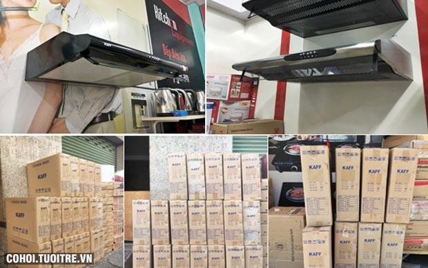 Thanh lý 200 máy hút mùi bếp Taka, KAFF, Eurosun lần 2