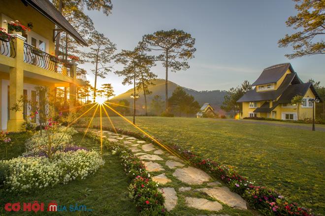 Tận hưởng kỳ nghỉ dưỡng tuyệt vời tại Bình An Village Resort Đà Lạt