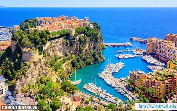 Du lịch Pháp, Đức, Ý, Thụy Sĩ, Tây Ban Nha, Monaco