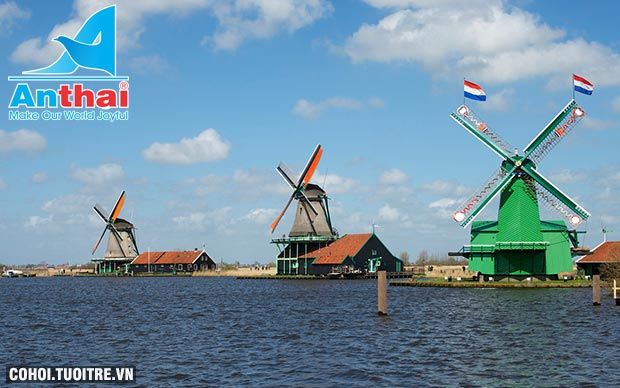 Du lịch Pháp, Luxembourg, Đức, Hà Lan, Bỉ 9N8Đ