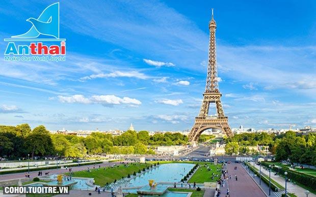 Du lịch Pháp, Thụy Sĩ, Ý, Vatican 11N10Đ