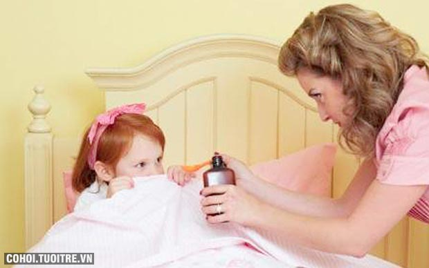 Dùng đúng thuốc cho trẻ sơ sinh và trẻ nhỏ bị ho