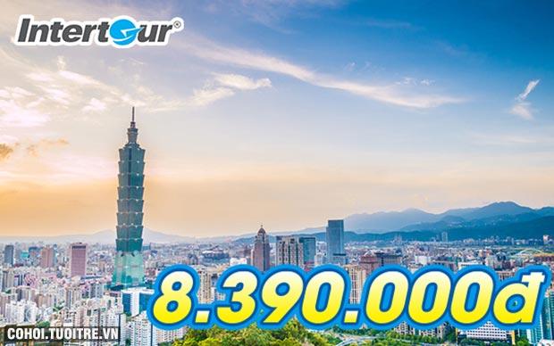 Tour du lịch Đài Loan giá rẻ chỉ còn 8.390.000 đồng