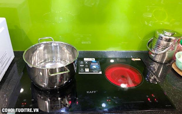 Bếp đôi hồng ngoại điện từ Kaff KF-FL108 nhập khẩu Đức