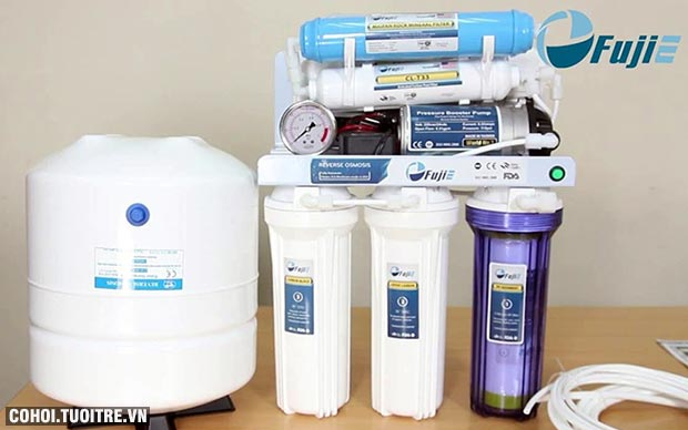 Thay lõi lọc nước RO FujiE PP số 1 - 5 micron
