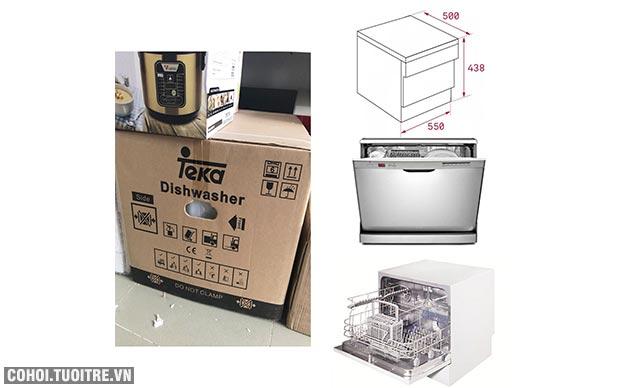Máy rửa bát mini Teka LP2140 chính hãng