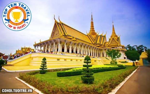 Tour Campuchia Tết Nguyên đán 2017 giá rẻ
