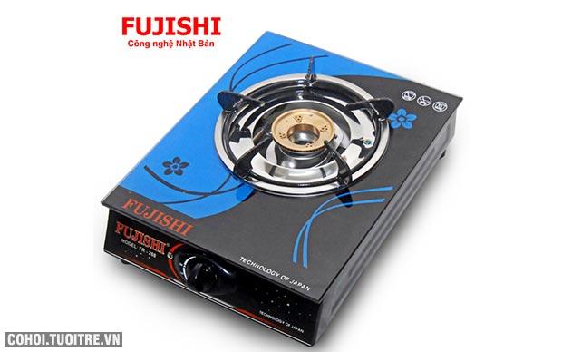 Bếp BIOGAS đơn chén đồng kính cường lực Fujishi FJ-BG1