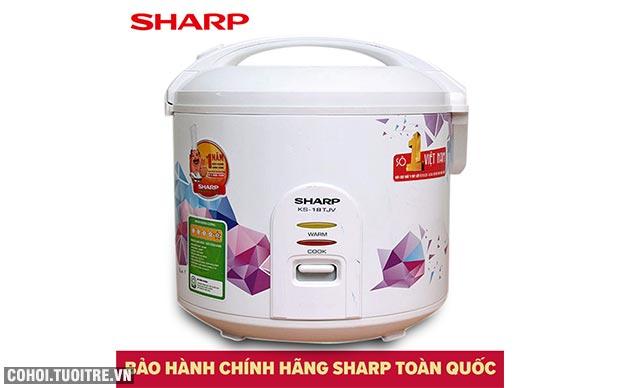 Xả kho nồi cơm điện Sharp KS-181TJV giá từ 445.000đ
