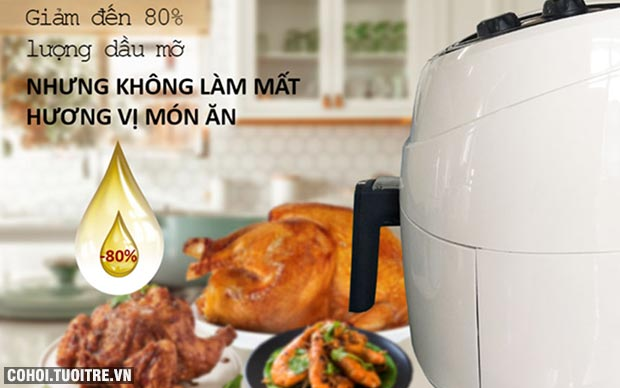 Nồi chiên không dầu Perfect GLA-809