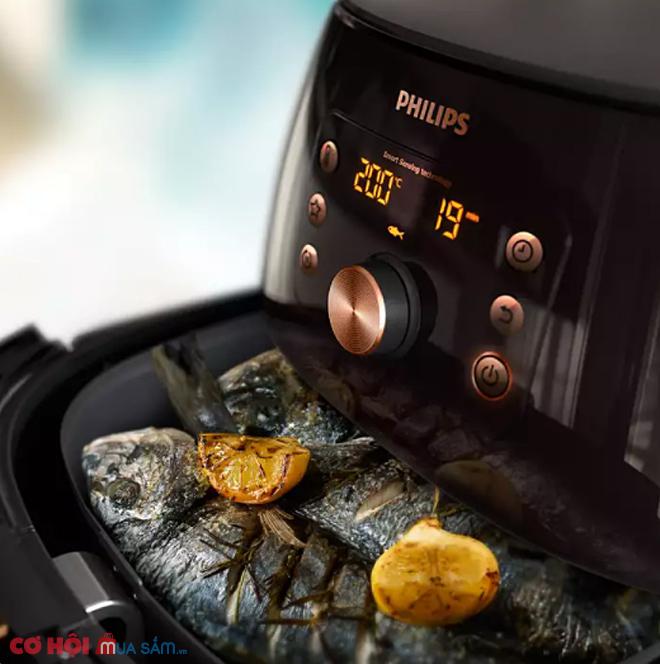 Nồi chiên không dầu Philips HD9860/90 XXL 5.2 lít