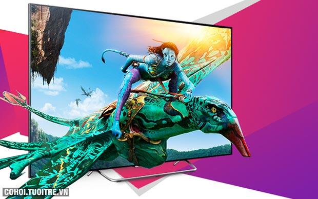 Smart tivi Sony 43 inch KDL - 43W800C Full HD