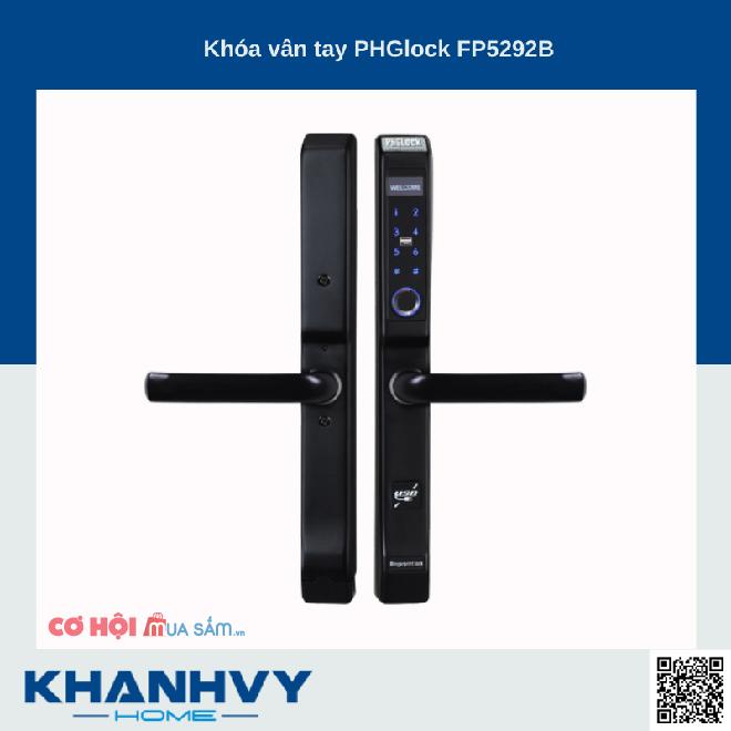 TOP 5 khóa điện tử PHGLock được ưa chuộng giảm giá đến 40%