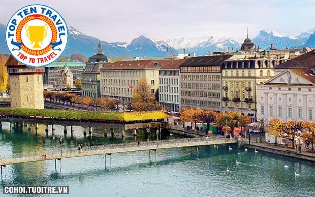 Du lịch 3 nước Pháp, Thụy Sĩ, Ý