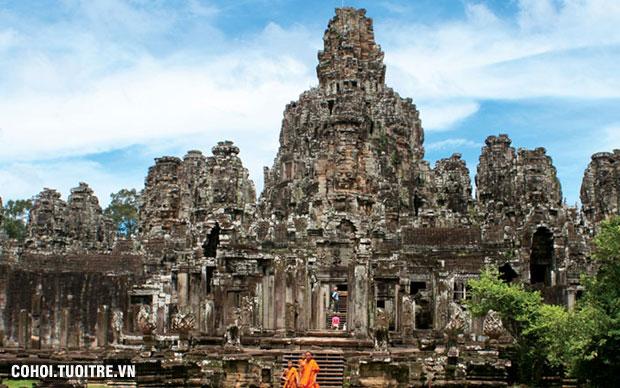 Tour du lịch Siemriep – Phnompenh 4 ngày 3 đêm