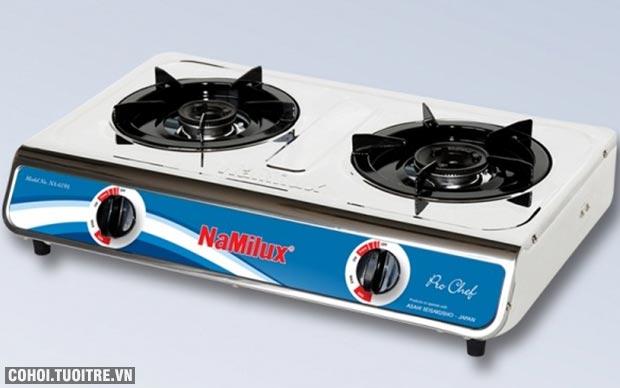Đại lý bếp gas đôi Namilux NA-619ASM