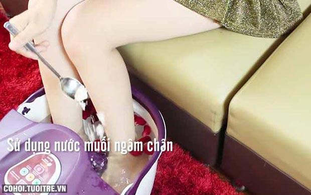 Bồn ngâm massage chân Buheung MK-414