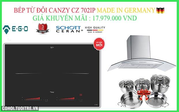 Bếp từ đôi Canzy CZ I89 nhập khẩu Malaysia