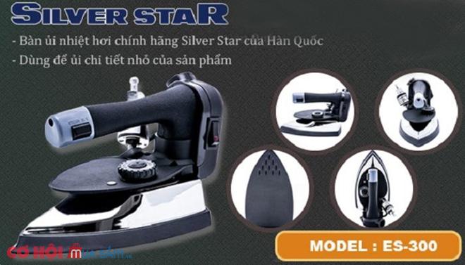 Bàn ủi hơi nước công nghiệp Silver Star ES-300