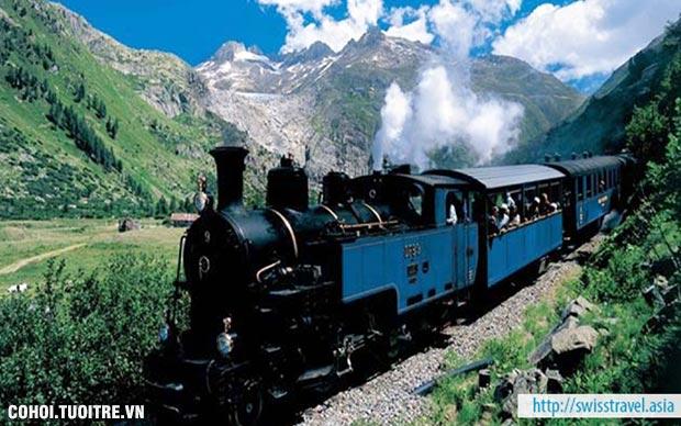Tour tham quan toa tàu Đà Lạt tại Thụy Sĩ