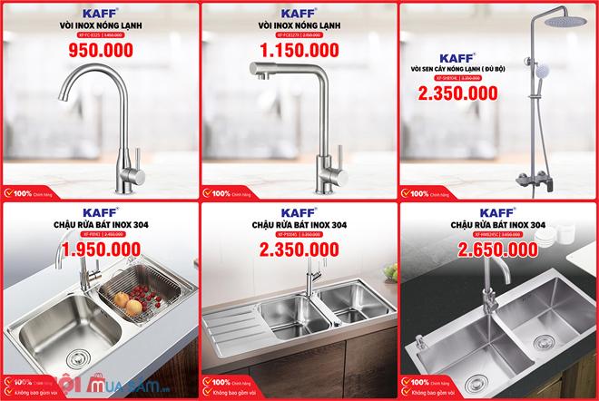 Xả kho máy lọc nước RO KAROFI và thiết bị nhà bếp
