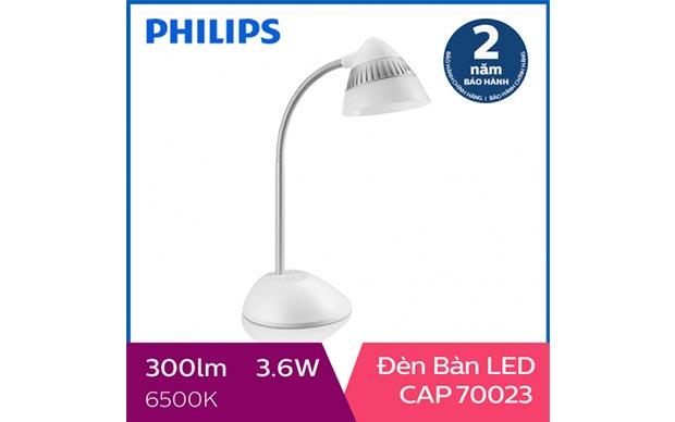 Đèn bàn học giúp chống cận LED Philips CAP 70023 4.5W
