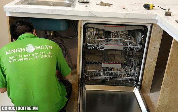 Máy rửa bát Bosch SMS46MI01G chính hãng