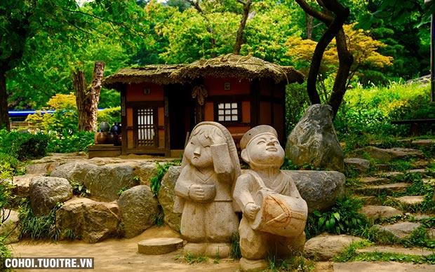 Hai điểm du lịch hè Hàn Quốc say lòng du khách Việt