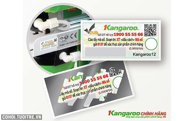 Máy lọc nước RO 1 vòi Kangaroo KG100HP Hydrogen