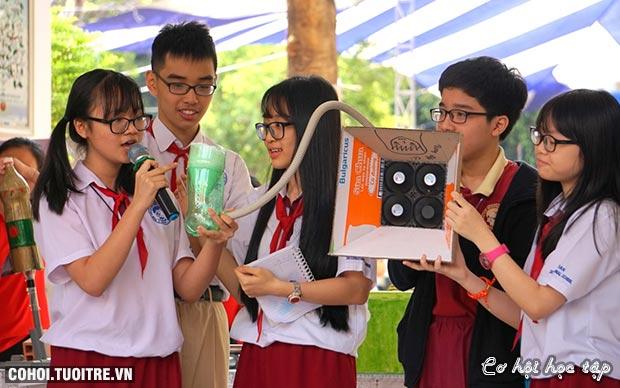 Môi trường giáo dục quốc tế giúp HS chủ động sáng tạo