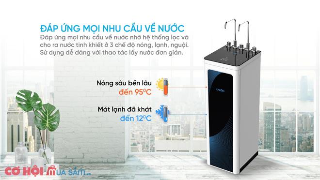Máy lọc nước nóng lạnh Karofi KAD-D52 New 2021