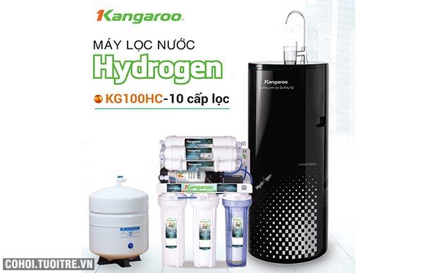 Máy lọc nước RO 1 vòi Kangaroo KG100HC Hydrogen