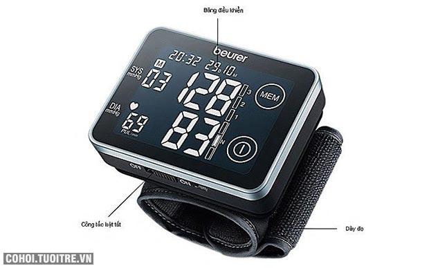 Máy đo huyết áp Beurer điện tử cảm ứng BC58