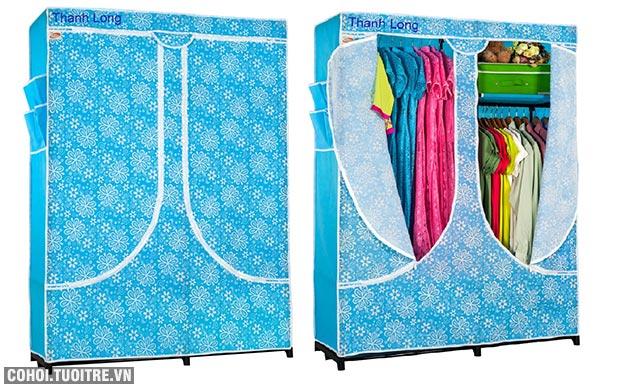 Tủ vải đựng quần áo Thanh Long TVAI03