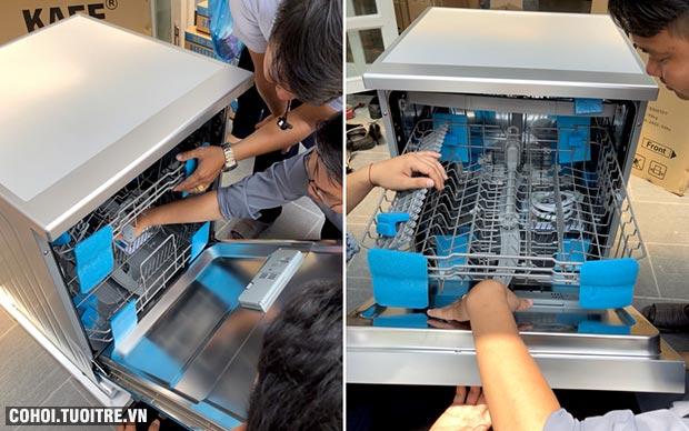 Máy rửa chén bát tự động KAFF KF-S906TFT