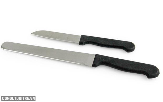 Bộ dao kéo làm bếp 6 món Kiến Lâm IN.01-016