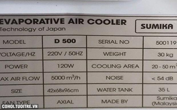 Máy làm mát không khí Sumika D500
