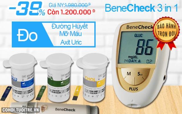Máy đo đường huyết - mỡ máu - Acid uric (Gút)