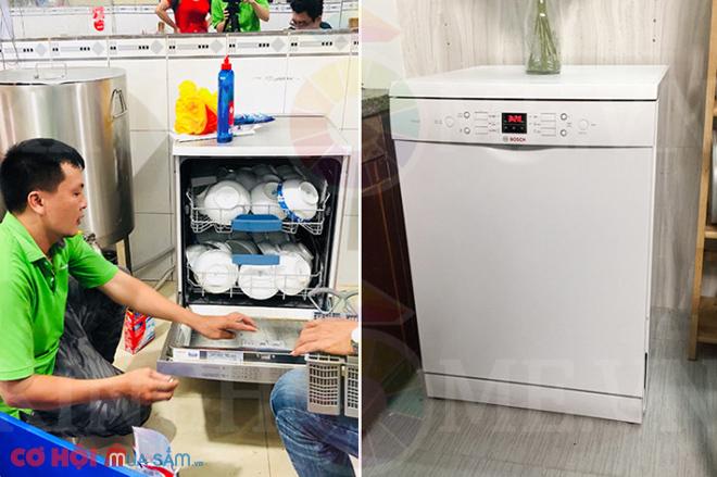 Xả kho máy rửa bát độc lập Bosch SMS63L02EA