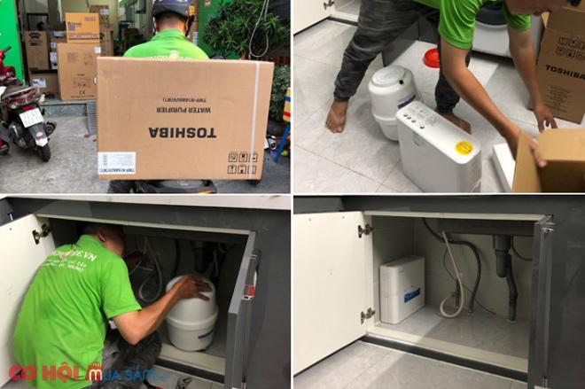 Máy lọc nước đầu nguồn A. O. Smith LS03U
