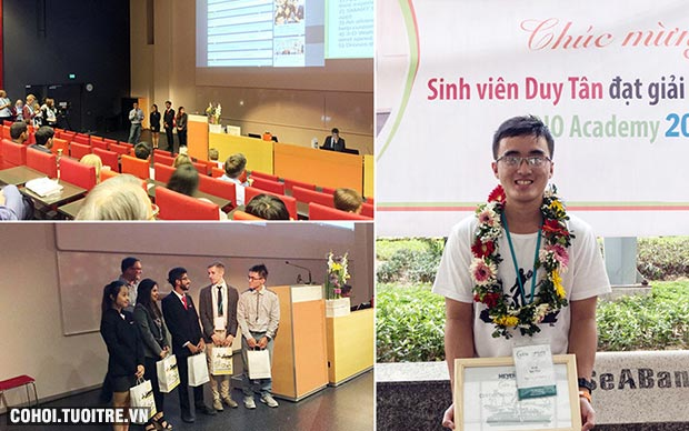 Sinh viên Duy Tân & Cúp CDIO Academy 2016 ở Phần Lan